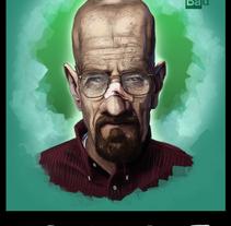 Caricaturas. Un proyecto de Ilustración, Cine, vídeo, televisión, Diseño editorial, Pintura y Cine de César Verdúguez - 29-08-2016