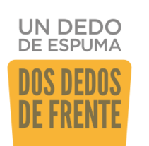 """Cartel concurso """"Un dedo de espuma, dos dedos de frente"""". Un proyecto de Diseño gráfico de Rocío González         - 31.07.2016"""