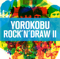 Retratos Yorokobu Rock´n´Draw II. A Illustration, Music, and Audio project by Oscar Giménez - 29-08-2016