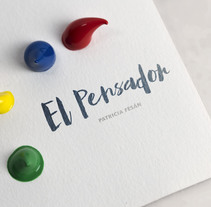El Pensador. A Design, Illustration, Fine Art, and Painting project by Patricia Fesán - 31-08-2016