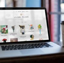 Blog Liliana Peligro. Un proyecto de Diseño Web de Emilio Gutierrez Rodriguez - 29-02-2016
