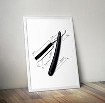 Barbería Madrid. Un proyecto de Diseño gráfico de Emilio Gutierrez Rodriguez - Domingo, 06 de septiembre de 2015 00:00:00 +0200
