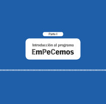 EmPeCemos. A Editorial Design, and Graphic Design project by Ana Cristina Martín  Alcrudo - Sep 13 2016 12:00 AM