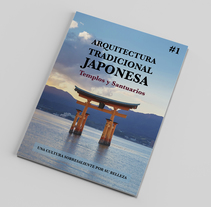 Arquitectura tradicional Japonesa. A Editorial Design project by Jorge Sosa         - 12.09.2016