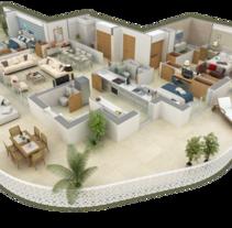 Infografía 3D. Un proyecto de 3D, Animación e Infografía de Jetcom         - 12.09.2016
