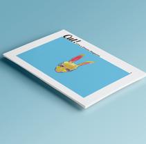 Cut! magazine, cine y diseño. Un proyecto de Diseño, Ilustración, Cine, vídeo, televisión, 3D, Dirección de arte, Diseño editorial, Diseño gráfico, Packaging, Cine y Naming de Mónica  San Pablo - 13-09-2016