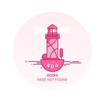 Daily UI challenge #008 - 404 Page. Um projeto de UI / UX e Web design de Jokin Lopez         - 13.09.2016