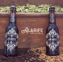 Cerveza Alarife Artesanal  - By Wo! Creative. Un proyecto de Diseño, Publicidad, Diseño gráfico y Packaging de Moisés Miranda         - 13.09.2016
