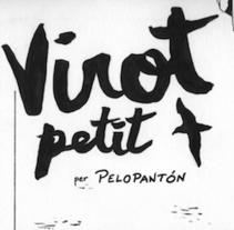 """Virot petit"" (Pardela balear). Un proyecto de Comic de Pelopantón         - 19.09.2016"