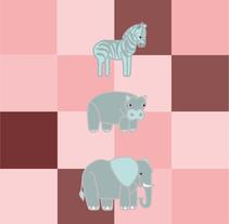 Ilustración Infantil. Aprendiendo los animales. Un proyecto de Ilustración y Diseño gráfico de Isabel García         - 21.09.2016