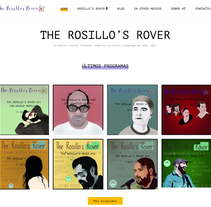 Diseño página web - Elena Rosillo. Un proyecto de Diseño Web de Néstor Tejero Bermejo - 26-09-2016