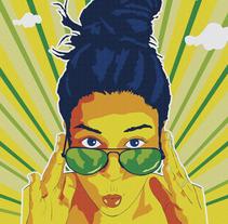 Ilustra con Garra y Vencerás: ¡Vive el verano a todo color!. Um projeto de Ilustração de David Soria         - 26.09.2016