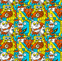 Mi Proyecto del curso: Pattern Design analógico y digital. A Illustration, and Graphic Design project by David Palma         - 29.09.2016
