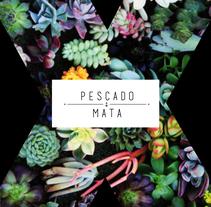P E S C A D O M A T A · graphic design · branding ·. Un proyecto de Diseño, Diseño de complementos y Diseño gráfico de María Sánchez Diz         - 02.10.2016