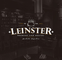"Leinster ""Brewery n' Hostel"". A Br, ing, Identit, Graphic Design, T, and pograph project by Leandro Bos         - 03.10.2016"