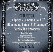 Poster Undergrau Fest 2016. Um projeto de Ilustração e Design gráfico de Enric Redón         - 04.10.2016