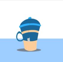 Greedy Mug. A Animation, and Graphic Design project by Victor Eduardo Manzanillo Piña         - 07.10.2016