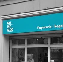 OH MY BLOC. A Graphic Design project by Rocío Machuca García         - 30.04.2015