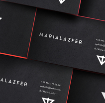 Maria-Lazfer Design Branding. A Design, Music, Audio, Br, ing&Identit project by Manuel Berlanga         - 12.10.2016
