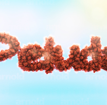 Tipografía peluda. A 3D, Graphic Design, T, and pograph project by María Bravo Guisado - 12-10-2016