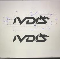 Logotipo y monograma IVDIS . A Industrial Design project by Cesar Giraldo         - 12.10.2016