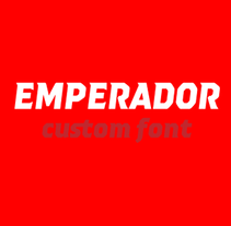 Emperador (Custom font). A T, and pograph project by Quique Ollervides - 04-08-2014