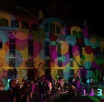 evento realizado en un fabrica modernista. Un proyecto de Br, ing e Identidad, Eventos, Diseño de iluminación y Escenografía de Andreu Boluda         - 16.10.2016
