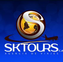 Sktours C.A. / Agencia de Viajes. A Graphic Design project by gilson alzate         - 18.10.2016