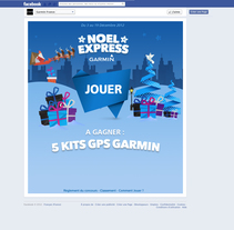 Garmin Noel Express. A Illustration, and Social Media project by Helen Sotillo         - 22.08.2013
