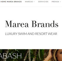 Web Desing for Luxury Swimwear Brands. Un proyecto de Moda, Marketing, Diseño Web y Desarrollo Web de Irene Cruz - 24-11-2007