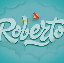 Roberto. A Graphic Design, T, pograph, and Calligraph project by Alberto Leonardo         - 14.11.2015