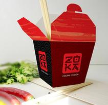 ZOKA Cocina Fusion. Un proyecto de Br e ing e Identidad de Telmo Cuenca - 29-10-2016