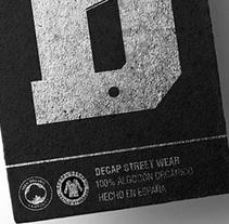 DECAP. Street Wear. Un proyecto de Br, ing e Identidad, Moda y Diseño gráfico de Pablo Barba - 01-07-2016