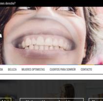 Soyoptimista.com. Um projeto de Marketing, Web design e Escrita de Olivia Gracia Rodríguez         - 15.11.2016