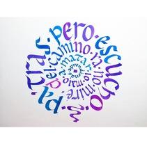 Caligrafía y lettering. Un proyecto de 3D y Caligrafía de Rocío  Linares         - 03.11.2016