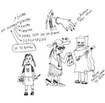 MI HISTORIA RESUMIDA. Um projeto de Ilustração e História em quadrinhos de Josune Urrutia Asua         - 03.10.2014