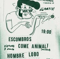 Tuzz Records Party. Un proyecto de Ilustración y Diseño gráfico de Narcís Rodríguez         - 05.11.2016