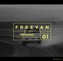 Freevan | Identidad, web, editorial. Un proyecto de Diseño, Br, ing e Identidad, Diseño editorial y Diseño Web de Moola Design         - 06.11.2016