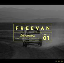 Freevan | Identidad, web, editorial. A Design, Br, ing, Identit, Editorial Design, and Web Design project by Moola Design         - 06.11.2016