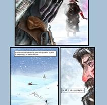 STORYBOARD / Cómic. Un proyecto de Ilustración, Publicidad, Cine, vídeo, televisión, Comic y Cine de César Verdúguez - 07-11-2016
