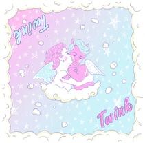 Heavenly Twinks. A Illustration, Character Design, and Comic project by Juan Estévez         - 08.11.2016