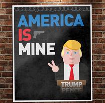 America Is Mine. A Illustration, and Character Design project by Pedro Antonio Castillo - Nov 09 2016 12:00 AM