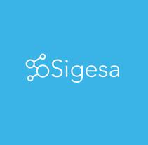 Sigesa's new identity brand. Um projeto de Br e ing e Identidade de Maria Gonzalez         - 31.10.2016