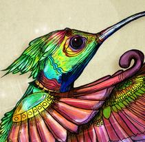 El tomará tu deseo. Um projeto de Ilustração e Artes plásticas de Selket Yhay         - 10.11.2016