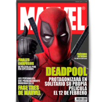 Diseño editorial - Marvel. A Editorial Design, and Graphic Design project by Aaron Garcia         - 08.02.2016