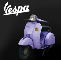 Banner VESPA. A Photograph, and Graphic Design project by Stefania Barbato Mengibar         - 14.11.2016