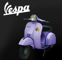 Banner VESPA. Un proyecto de Fotografía y Diseño gráfico de Stefania Barbato Mengibar         - 14.11.2016