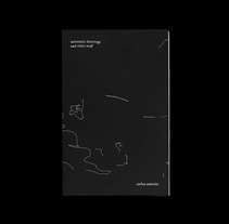 Automatic drawings zine. A Design, Illustration, Editorial Design, Graphic Design, Painting, and Screen-printing project by Chensio          - 17.11.2016