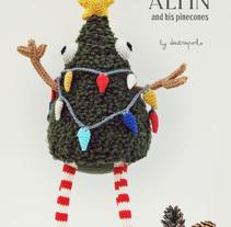 Herb Alpin. Un proyecto de Diseño de personajes, Artesanía y Diseño de juguetes de Maria Sommer         - 20.11.2016