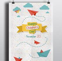 International Children's Day. Um projeto de Design editorial, Design gráfico e Arquitetura da informação de Diana Drago         - 21.11.2016
